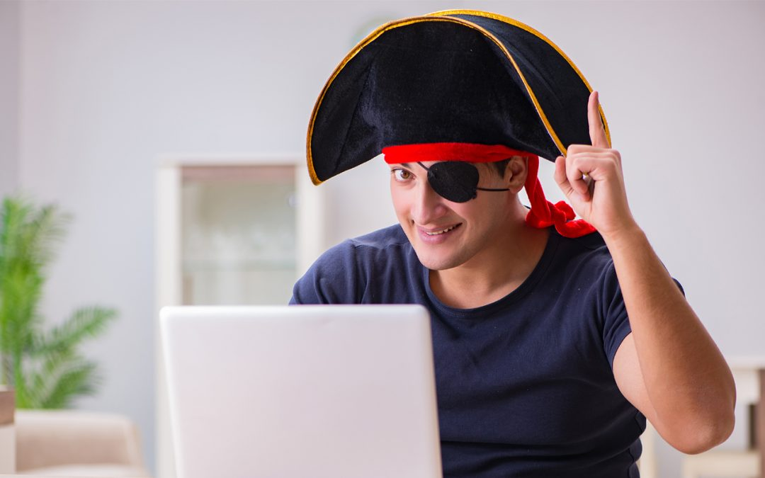 The reason pirates wear an eye patch?